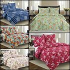 Nikita - 3 Piece Reversible Quilt Set and shams Floral. image