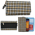 Universal Phone Patterned Metro Case Wristlet W/Coin Pocket Cover Pouch