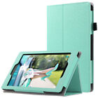 ULAK Standable Leather Wallet Case Cover for All-New Amazon Fire HD 8 2016