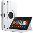 """ULAK 360 Rotating PU Leather Smart Cover Case For Kindle Fire HDX 8.9"""" 2013"""