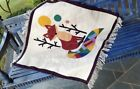 Handcrafted Woven Decorative Colorful WallPiece Reversible Area Rugs Kids Carpet