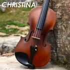 Italy Christina V01 Stradivari beginner violin Antique Maple violin 4/4