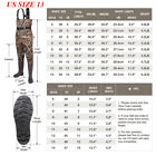 FISHINGSIR Chest Waders Waterproof NYLON PVC Bootfoot Fishing & Hunting Waders