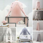 Kid Baby Nursery Cot Crib Bed Canopy Bedcover Mosquito Curtain Netting Dome Tent for sale  United Kingdom