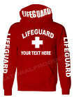 PERSONALIZE LIFE-GUARD PULLOVER HOODIE JACKET SAFETY POOL STAFF SWEATSHIRT $30.0 USD on eBay