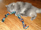 Organic Wild Catnip Cat Toy - Big Fleece Rope - This years fresh wild catnip