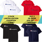 Champion Men's Classic Jersey Script T-Shirt Limited Edition 2 PACK (S-XL) image