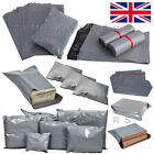 """Grey Mailing Bags Self Seal Strong Postage Postal Poly Pack (165x230mm 6""""x9"""")"""