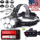 Kyпить 150000LM 5X T6 LED Headlamp Rechargeable Head Light Flashlight Torch Lamp USA на еВаy.соm