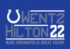 Phillip Rivers TY Hilton campaign shirt Indianapolis Colts T.Y. football Heck $22.00 USD on eBay