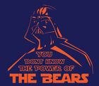 Darth Vader Chicago Bears shirt Star Wars t-shirt Mitch Trubisky NFL Playoffs on eBay