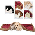 Sherpa Throw Blanket Snuggle Super Soft Fleece Cushion Mat for Pet Dog and Cat