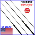 FISHINGSIR DREAMCASTER Bass Fishing Rods Spinning & Casting Carbon Fiber Rod New