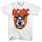 ACDC Fly on the Wall Album Cover Mens T Shirt Metal Rock Band Concert Tour Merch image