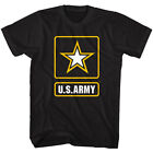 US Army Gold Star Badge Logo Men's T Shirt America Military Soldier Armed Forces image