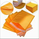 Padded Bubble Postal Bags Envelopes Mail Bags All Sizes Yellow Brown 205x245mm