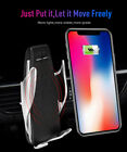 Automatic Clamping Wireless Car Charger Mount For iPhone Samsung Type-C Phones R