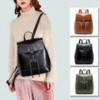 Real Leather Drawstring Small Backpack Rucksack Daypack Travel bag Purse Bag