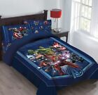 Внешний вид - Twin & Full Avengers Marvel BED IN A BAG Comforter Fitted Sheets & Pillowcase/s
