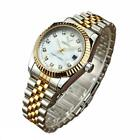 Luxury brand mens womens stainless steel watch water resistant quartz gift SALE image