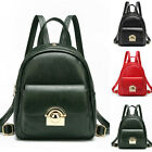 Women's Faux Leather Small Mini Backpack Rucksack Daypack Travel Bag Purse