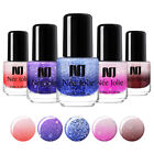 NEE JOLIE 3.5ml Thermal Color Changing Nail Polish Pearl Sequins Nail $1.29 USD on eBay