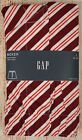 NIP Mens GAP Boxers 100% Cotton Elastic Waist Hot Red Coral Stripe - 982138