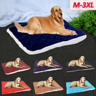 Plush Dog Bed Warm Soft Large Pets Cat Cushion Sleeping Mat Cozy Kennel Washable