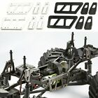 Alloy Car Refit Chassis Lift Plate Set Kit for 1/10 RC Axial SCX10 RC Crawler
