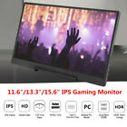 "11.6/13.3/15.6"" Ultra-Slim IPS HD 1080P Portable Monitor for HDMI XBOX PC Laptop"