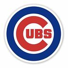 Chicago Cubs Logo Die Cut Vinyl Decal Sticker - You Choose Size FREE SHIPPING