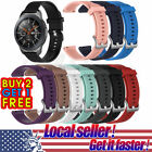 US Silicone Rubber Watch Band Wrist Strap For Samsung Galaxy Watch 42mm/46mm xi image