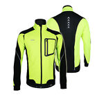 ARSUXEO Bike Bicycle Cycling Sport Clothing Windproof Jacket Coats Jersey R1J4