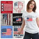 Patriotic American Flag Freedom T Shirts | USA Stars Stripes 4th Of July Tshirts image