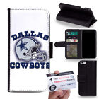 PIN-1 Dallas Cowboys Phone Wallet Flip Case Cover for All Models