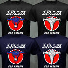 Rare Japan Retro Classic Anime Gatchaman G-force God Phoenix Aircraft T-shirt image