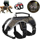 No Pull Dog Harness Reflective Adjustable for Large Breeds Pit Bull Dobermans