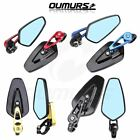 "Motorcycle 7/8"" Handlebar Bar End Mirrors For Ducati Triumph Honda Aprilia BMW $17.43 USD on eBay"