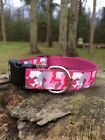 Pink Camo Dog Collar, FREE SHIPPING