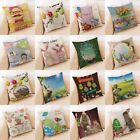 Home Decor Garden New Easter Sofa Bed Home Decoration Festival Pillow Case Cushion Cover 18x18''