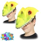 Kids Animal Masks Costume Girls Boys Zoo Pets Farm Fancy Dress Outfit Accessory