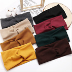 Haarband Damen Stirnband Stretch winter Bandana Kopfschmuck strick Sport Knoten