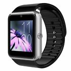 GT08 Bluetooth Smart Wrist Watch Touch Screen Phone Mate GPRS For Android iPhone