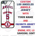 LOS ANGELES ANGELS PHONE CASE COVER WITH NAME&No. FOR iPHONE SAMSUNG LG MOTOetc $23.98 USD on eBay