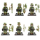 6pcs/lot SWAT Block Military Figure Set SY11101 Lego Figures