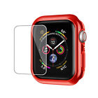 Fr Apple Watch Series 5 4 44mm Bumper Hard Case Cover Screen Protector iWatch 40
