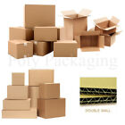 Strong DOUBLE WALL Cardboard Boxes ANY QTY Storage Removal ANY SIZE POSTAL Post