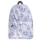 Womens Girls Backpack Rucksack School College Travel Laptop Canvas Bag Handbag