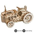 Robotime DIY Model Kits 3D Wooden Puzzle Mechanical Gear Drive Toy for Adult LK