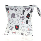 Baby Protable Nappy Washable Nappy Wet Dry Cloth Zipper Waterproof Diaper Bag